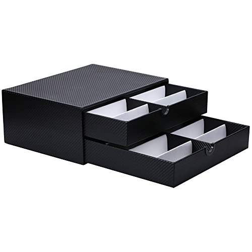 Edge I -Wear Collection 16 Piece Eyewear Display Case Tray D
