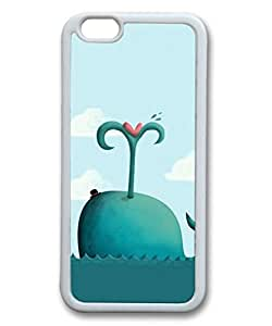Cool IPhone 6S Skin Custom 0059468 cute whale 3 case for iphone 647 tpu material white IPhone 6S Case
