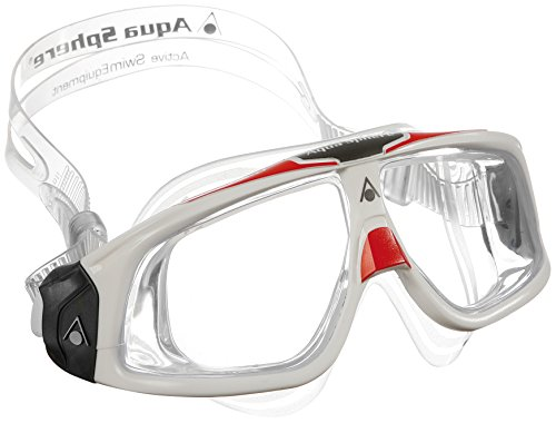 Aqua Lung Aqua Sphere Seal 2.0 Goggles with Clear Lens, W...