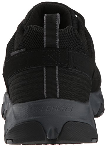 Crossbar Charcoal Bkcc Nero Black Skechers Sneaker Uomo H0xgw