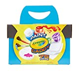 Crayola Paint Caddy, Washable Paints & Painting Supplies, Craft Kit, 75 Pieces, Gift