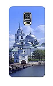 Exultantor Case Cover Protector Specially Made For Galaxy S5 Monastery Of St. Nil