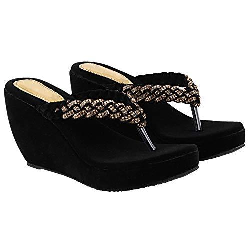 Do Bhai Women Wedges Sandal Butterfly