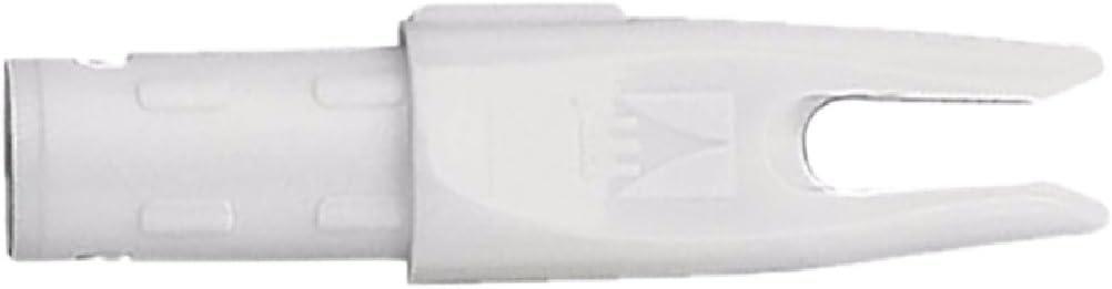 Easton 295342 Nock H-6mm White 12 Pack