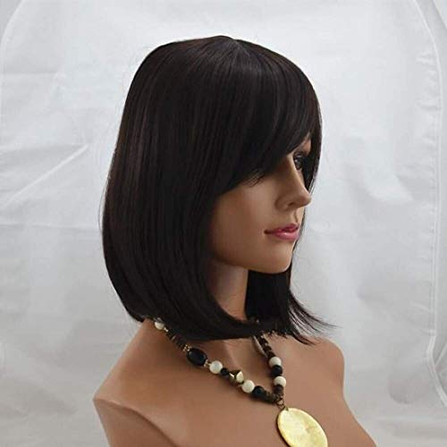 - 12inch capless short synthetic straight soft hair wig mix 2 33 2 30