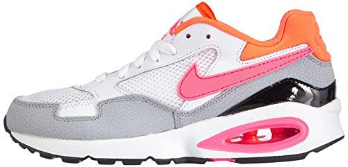 Nike Donna Da weiß Max Air pink Power Grey Bianco Per Sport St Orange wolf Wmns Scarpe total white F8qFrHw