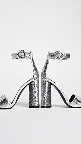 Silver Sandal Giselle KYLIE Heeled KENDALL Women's w8qFP6WX