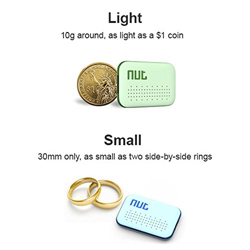 Decdeal BT Anti-lost Tracker, GPS Smart Tag Alarm Locator for Kids, Phone, Key, Wallet, Gps Tracker Device for iOS/Android by Decdeal (Image #2)