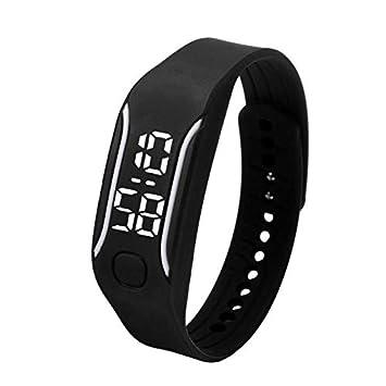 LED Reloj de Moda Deportivo 💝💞 Yesmile Impermeable Reloj Digital para Niños Chicos Hombres Mujeres Reloj de Pulsera: Amazon.es: Hogar