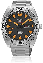 Seiko Automatic SRP741K2 Black Dial Stainless Steel Band Men's Watch