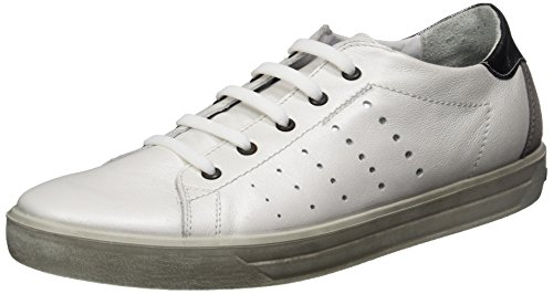 Ricosta Women's Midori Low-Top Sneakers, Weiß White (Weiss)