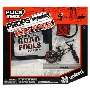 Flick Trix Props DVD 6 with United Black by Spin Master