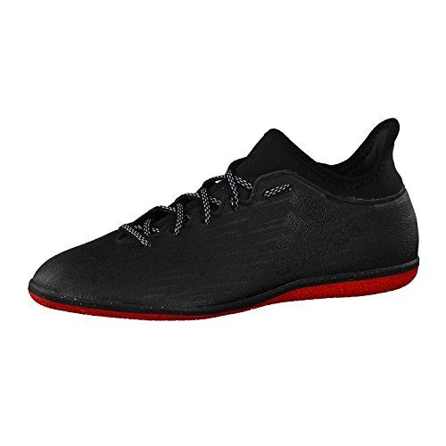 adidas Herren X 16.3 in Fußballschuhe, Schwarz (Core Black/Core Black/Dark Grey), 41 1/3 EU