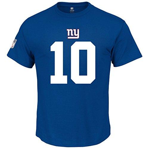 Majestic NFL Fan Shirt - New York Giants 10 Eli Manning - XL