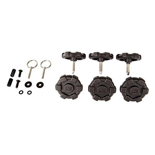 Rugged Ridge 13510.16 Elite Hardtop Quick Removal Kit (For 4 Door 2007-2018 Jeep Wrangler JK Unlimited) ()