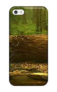 New Style JudyRM Hard Case Cover For Iphone 5/5s- Forest