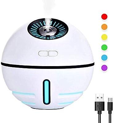Amazon.es: HYM Mini Ventilador PortáTil Aromaterapia Difusor 300 ...