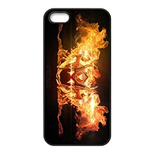 games Shyvana Logo LOL iPhone 4 4s Cell Phone Case Black gift zhm004-9322489