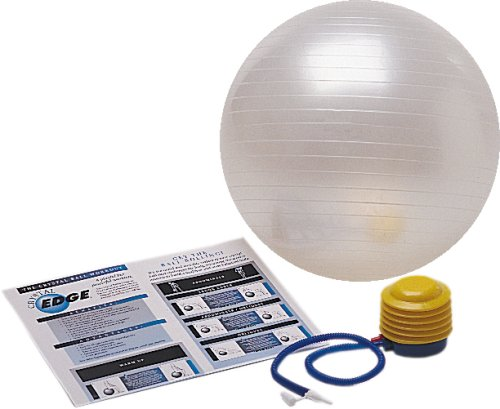 Stamina Crystal Edge 65cm Ball with Pump