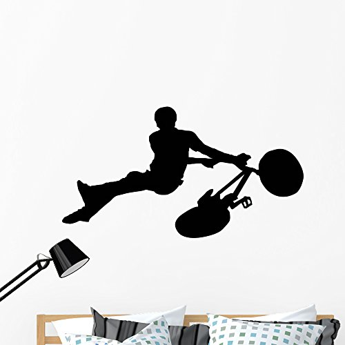 Cheap  Wallmonkeys WM30246 BMX Wall Decal Peel and Stick Graphic (48 in W..