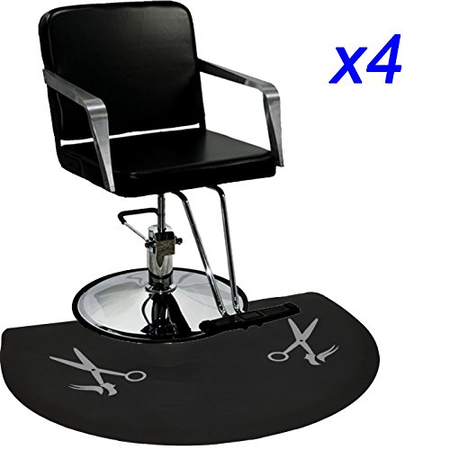 Review LCL Beauty Professional 4 Station Package Styling Chair & Station, Backwash Unit, Anti Fatigue Mats Complete Salon Spa Beauty Equipment