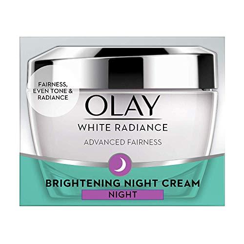 - Olay White Radiance Advanced Night Essence Skin Cream Moisturizer, 50g