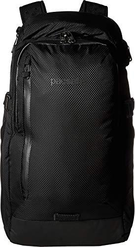 PacSafe Venturesafe X30-30L Anti-Theft Outdoor/Adventure-Ergonomic Design Hiking Backpack, Black, One Size