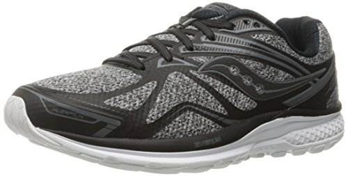 FUNSHOWCASE Men's Ride 9 lr Running Shoe, Grey/Black, 11 M US