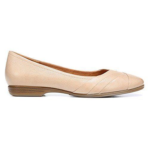 discount shop for buy cheap low price Naturalizer Women's Jaye Flat Mocha Taupe Leather ebay cheap online RHBjx8
