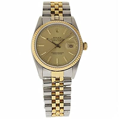 Rolex Datejust 36mm swiss-automatic mens Watch 16013 (Certified Pre-owned)