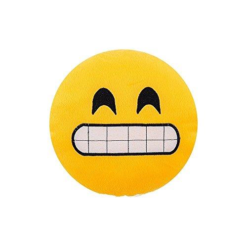 Almofada Emoji 45cm - Sorridente
