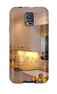 GewpvVF4992stokC ZippyDoritEduard White Country-style Kitchen With Warm Granite Countertops Durable Galaxy S5 Tpu Flexible Soft Case