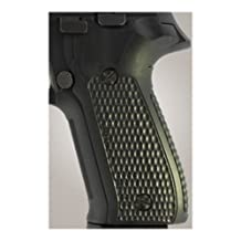 Hogue Sig P226 Grips (Pirahna G-10), Solid Black
