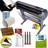 28-inch Vinyl Cutter Value Sign Making Bundle with Design and Cut Software - Cutting Signs, Stickers