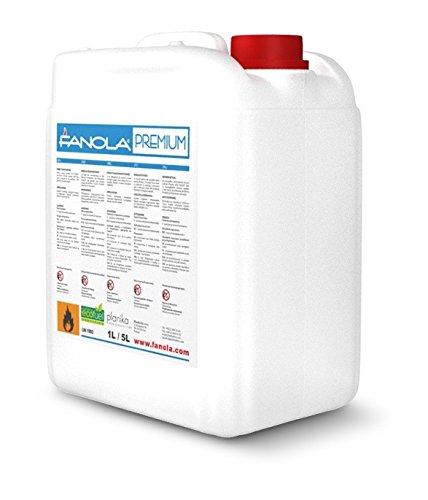 planika fanola –  96, 6% IGES bioetanol en 5 litros kanistern: 20 litros 6% IGES bioetanol en 5litros kanistern: 20litros