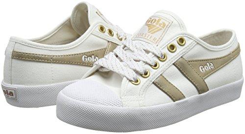 White gold gold Donna Wy Bianco Sneaker Mirror white Coaster Gola AEBOx