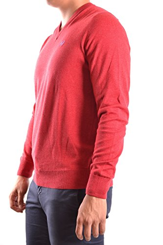 Fred Perry Homme MCBI128083O Rouge Coton Maille