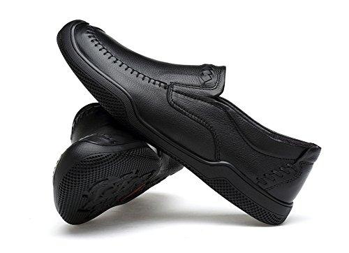 Quattro in 36 da 44 pelle casual in pelle B da scarpe stagioni pelle scarpe uomo uomo scamosciata morbida in XIE con suola 0qHdf0