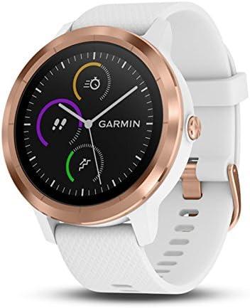 Garmin Vivoactive 3 GPS Fitness smartwatch, WeißRosegold, M