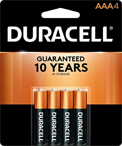 (Duracell Coppertop AAA Batteries, 4 Count)