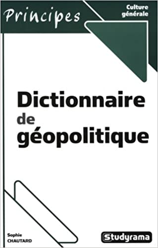 Téléchargement gratuit de livres en ligne Dictionnaire de géopolitique PDF PDB