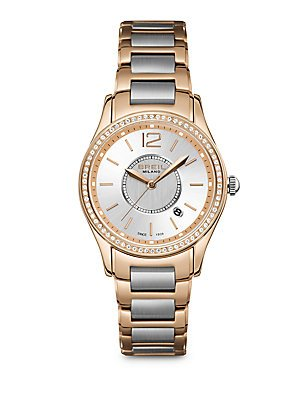 Breil Milano Women's Two-Tone Stainless Steel Bracelet Watch 37mm TW1252