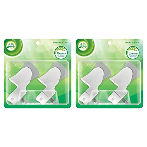 Air Wick Scented Oil Air Freshener Warmer, 2 Count (Pack of 2)