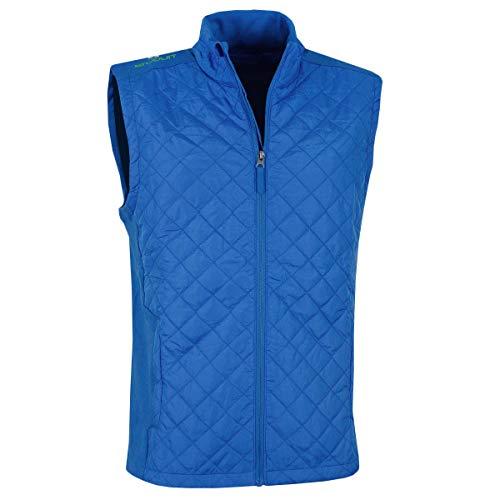 Stuburt Golf 2017 Mens Endurance Sports Thermal Full Zip Padded WindProof Gilet Imperial Blue ()