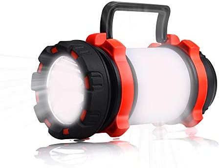 YIERBLUE Rechargeable Waterproof Flashlights Multifunctional