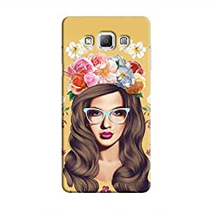 Cover It Up Classy Flower Head Hard Case For Samsung Galaxy a5