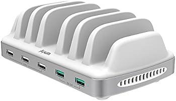 Alxum 60-watt 5-Port USB Charging Station