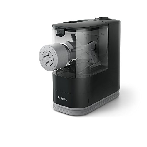 Philips Compact Pasta Maker – Viva Collection, HR2371/05, Black by Philips