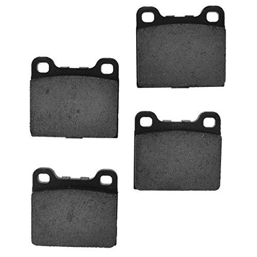 Front or Rear Ceramic Disc Brake Pads for Mercedes Benz 500SEL 300SDL 380SL Volkswagen 411 Volvo V70 S70 850 ()