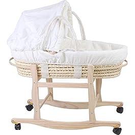 Corn Husk Baby Cradle Baby Bed Cradle Bed Newborn Sleeping Basket